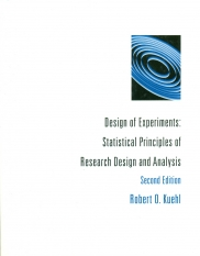 Design of Experiments : Statistical Principles of Research Design and Analysis (2/e)