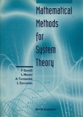 Mathematical Methods for Sustem Theory