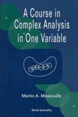 A Course in Complex Analysis in One Variable