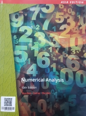 Numerical Analysis 10th Edition (asia edition)